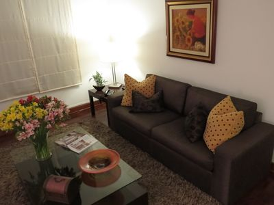 Photo for Furnished 3-bed apartment in Miraflores