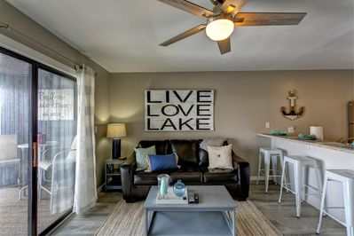 Spacious Light and Bright Open Concept with Sleeper Sofa for the Kids