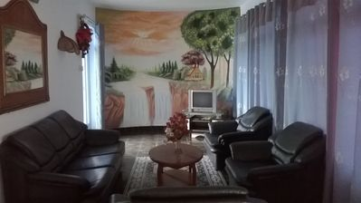 Photo for The house is suitable for family vacation. It is located near the seaside ........