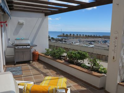 Photo for Super apartment on the sea with wonderful sandy bay with private access.