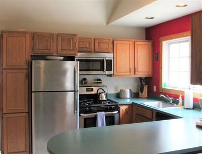 Fully-equipped kitchen for your cooking needs