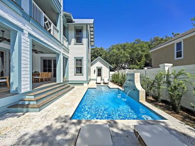 Photo for 65 Azalea - Sea Grove Beach - Private Pool - Sleeps 18 - Walk to The Beach