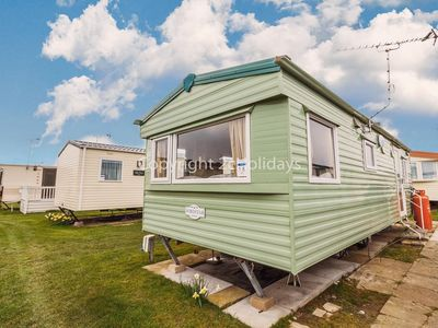 Photo for 6 berth dog friendly caravan for hire at California Cliffs  ref 50018