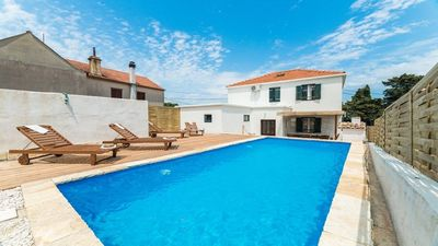 Photo for Villa Antica, rustic dalmatian house with pool