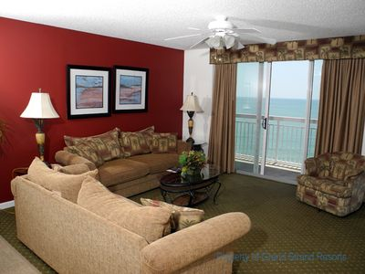 Photo for Crescent Shores Oceanfront Unit 1204! Stunning Condo. Book your get away today!