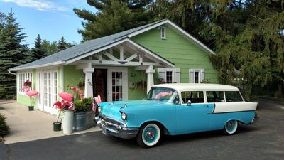Photo for King Room in Retro Motorlodge with Award-Winning Renovations!