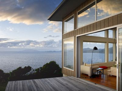 Photo for XSPOT cliff-top eco-holiday apartment for two 4WD