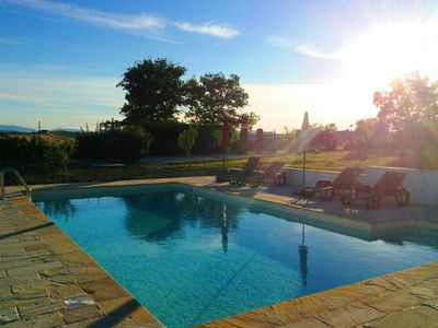 Photo for Original country house in the green heart of the Marche with pool and garden!