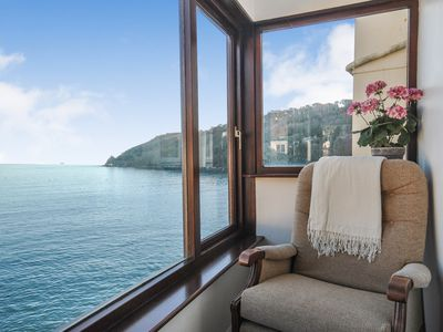 Photo for Beautiful cottage with incredible sea views