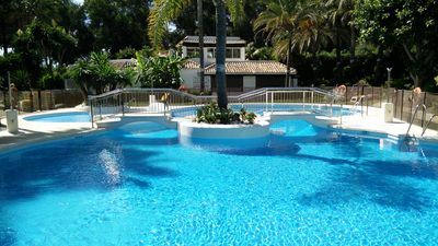 Photo for Great 3 bedroom apartment in Golden Beach, Marbella