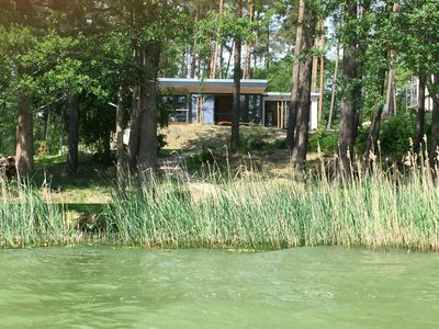 Photo for Luxury holiday home directly on the lake, near-natural comfort in a modern style