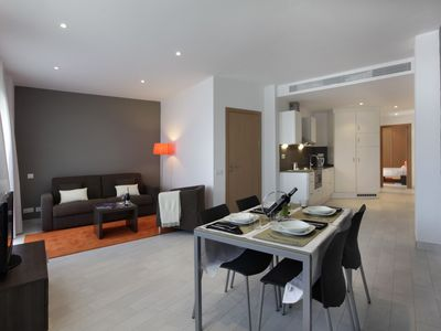 Photo for 1 bedroom apartment for 4 people with sofa bed and balcony, near Camp Nou 5º1º