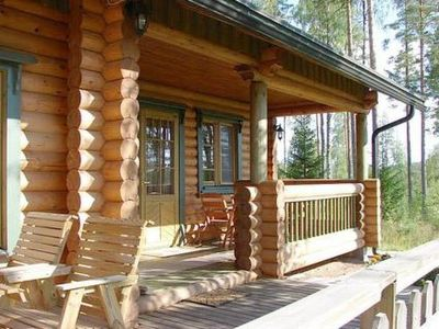 Photo for Vacation home Kanervakallio in Multia - 6 persons, 2 bedrooms