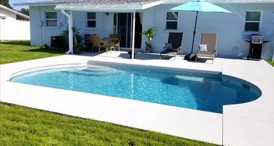 Photo for Private Pool House 6 miles from the Beach
