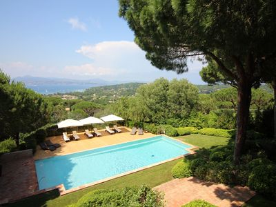 Photo for VILLA LA GRENOUILLE SAINT TROPEZ, Splendid Villa SEA VIEW