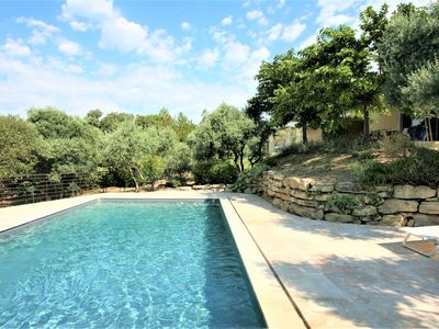 Photo for Villa tastefully renovated in the heart of the Luberon with pool and sleeps 8