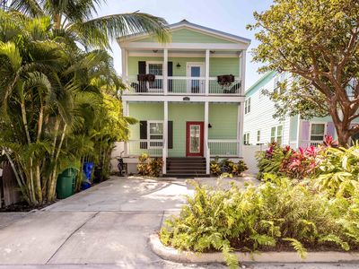 Photo for Dog-friendly home w/ private pool - walk to parks, shopping, & the beach!