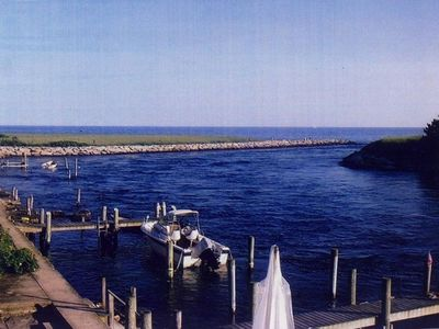 Photo for Water Front Beach Cottage In Charlestown W/ Private Beach Passes
