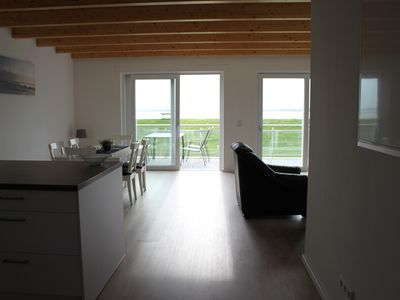 Photo for Apartment with the most beautiful view of the Elbe in Kollmar