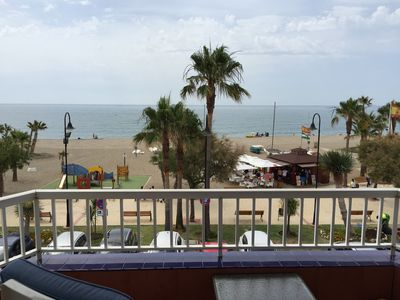 Photo for Beach Front La Cala de Mijas with stunning views of the med
