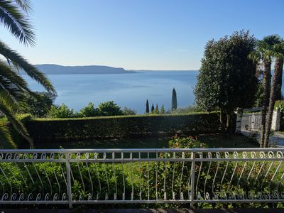 Photo for Villa Carolin - top location, panoramic view, small pool and 3000sqm for childre
