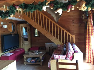 Photo for Lovely duplex flat facing the slopes in Serre Chevalier for 8 to 10 people
