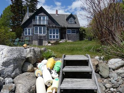 Photo for Seascape Cottage: Shore, Kayaks & Charm on the Lovely Quiet Side of MDI & Acadia