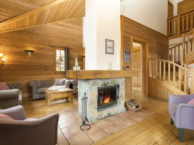 Photo for 8 bedroom Chalet, sleeps 15 with FREE WiFi