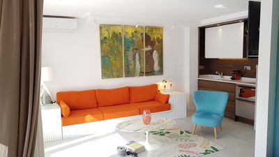 Photo for Sitges: Nice apartment  50m from the beach