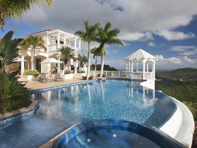 Photo for Hilltop Estate with Endless Views, Infinity Pool and Gorgeous Sunsets!!