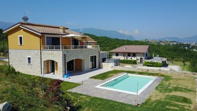 Photo for New villa with private pool and WIFI for 6/8 people