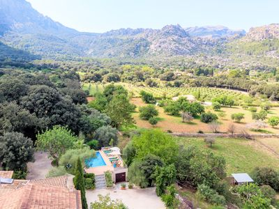 Photo for Quiet country house with pool in the Serra de Tramuntana