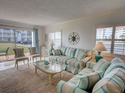 Photo for 2BR / 2BA - Walk right out to the pool and the beach!