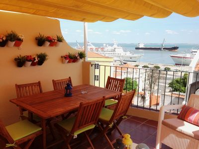 Photo for Remedios VI- terrace and beautiful river view!