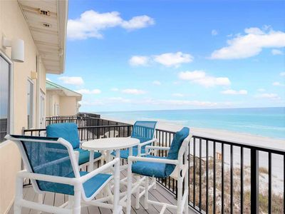 Listen to the Waves Crash from Every Room in this Relaxing Gulf Front Condo!