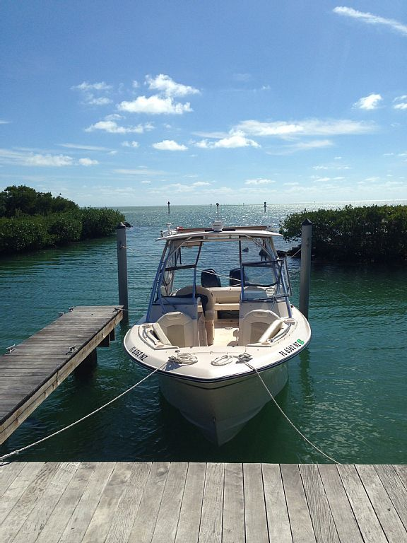 Anglers Reef Private Home Boat Dock No Hurricane Damage