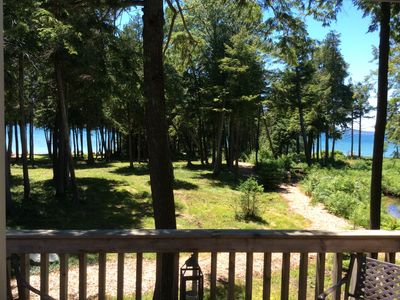 Photo for Waterfront  Condo On Little Traverse Bay. Beaches, Pools,Tennis,Near Golf And Sk