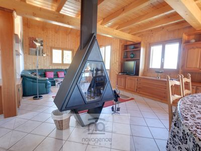 Photo for Chalet on 3 floors with : Ground floor: 1 bedroom with 1 double bed + bathroom/WC + sauna, 1 bedroo