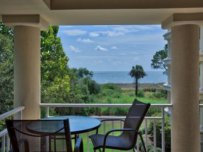 Photo for 3 BR Beautiful Sea Breeze Villa on Daufuskie - POOL! Ocean Front