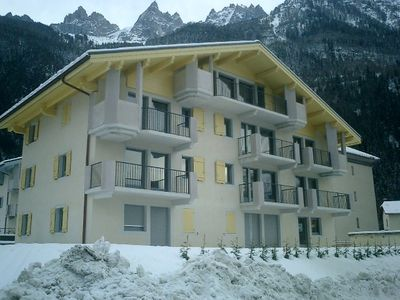 Photo for Central Chamonix Penthouse Apartment, 3 beds, 2 baths Amazing Views