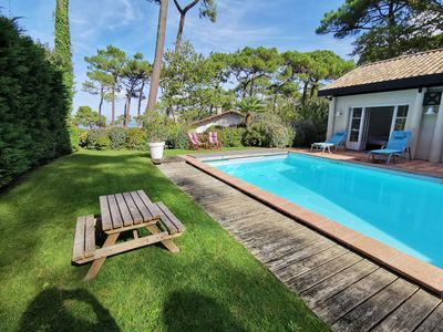 Photo for Superb house at the top of the Dune du Pilat, pool and views of the Basin
