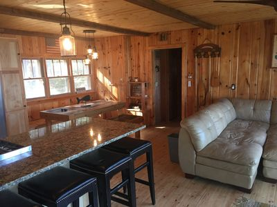 Photo for 3 bedroom, 1 bath rental on the White Fish Chain in Crosslake