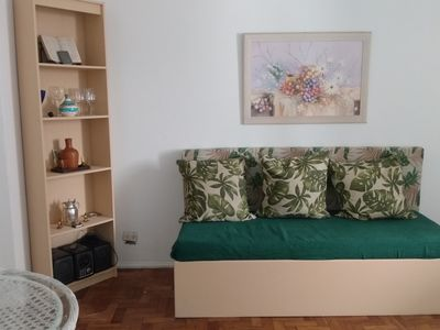 Photo for In the heart of Botafogo, next to the subway 5 minutes from Copacabana beach and helm
