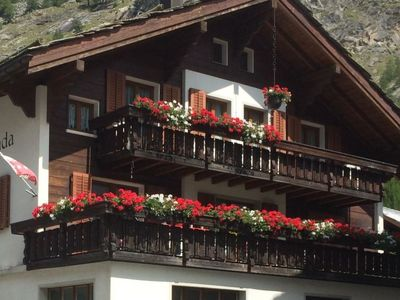 Photo for Saas-Almagell Apartment, Sleeps 8 with WiFi