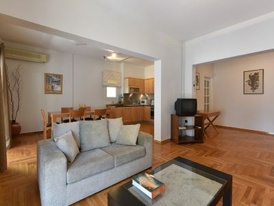Photo for Beautiful Apartment just 200 meters from Victoria Square downtown Athens