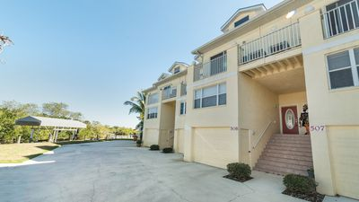 """Where Charlotte Harbor meets the Myakka River, the water views from this villa """" Sunrise Villa"""" are peaceful and expansive."""