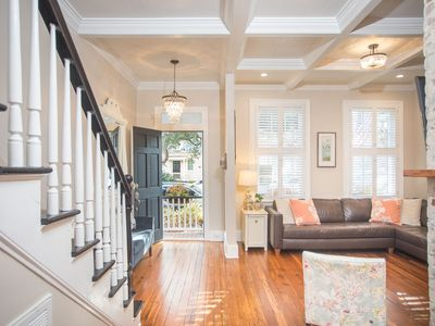 Photo for Stay with Lucky Savannah: Cozy home on famous Jones St. in Historic District