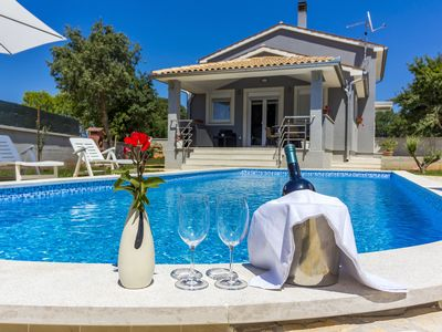 "Photo for Villa ""Dejana"" -  Great villa with big swimming pool on peaceful location!"