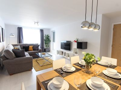 Photo for Stylish, Modern, 2 Bedroom Apartment in the heart of Wembley Park