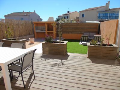 Photo for Villa F4 85m2 for 6 people 150m from the port and the beach